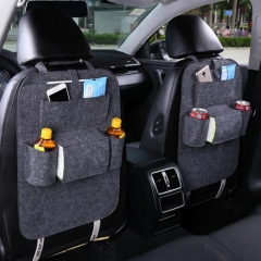 Car Storage Bag Universal Box Back Seat Bag Organizer Backseat Holder Pockets Car-styling Protector Auto Accessories For kid