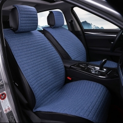 CAR Seat Cushion Linen/Breathable Car Seat Cover Pad Fit Most auto Truck Inside Covers for cars Protect front seat
