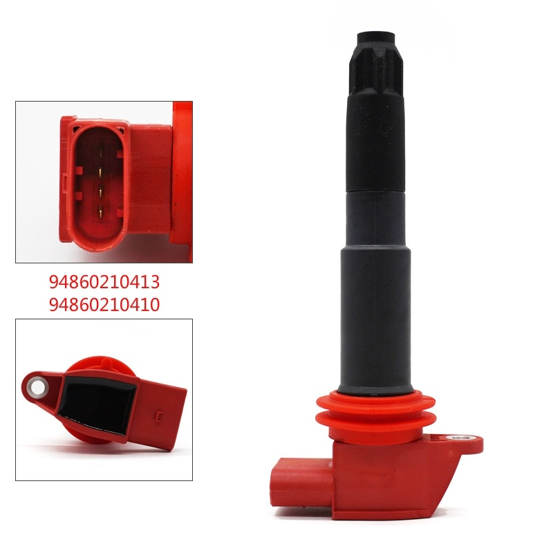 Ignition CoilIgnition Coil for Porsche Cayenne 92A 4.8 Turbo 0040102006 94860210410 149923 Ignition System Coil-on-plug