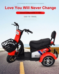 Electric Tricycle 3 Wheel Electric Leisure Scooter Battery Tricycle MODEL 7.0 25km/h ABS electronic brakes