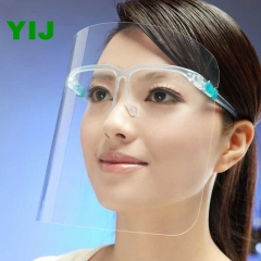 Oil Splash Mask High Definition Double Side Anti Fog Can Wear Glasses Yijauto